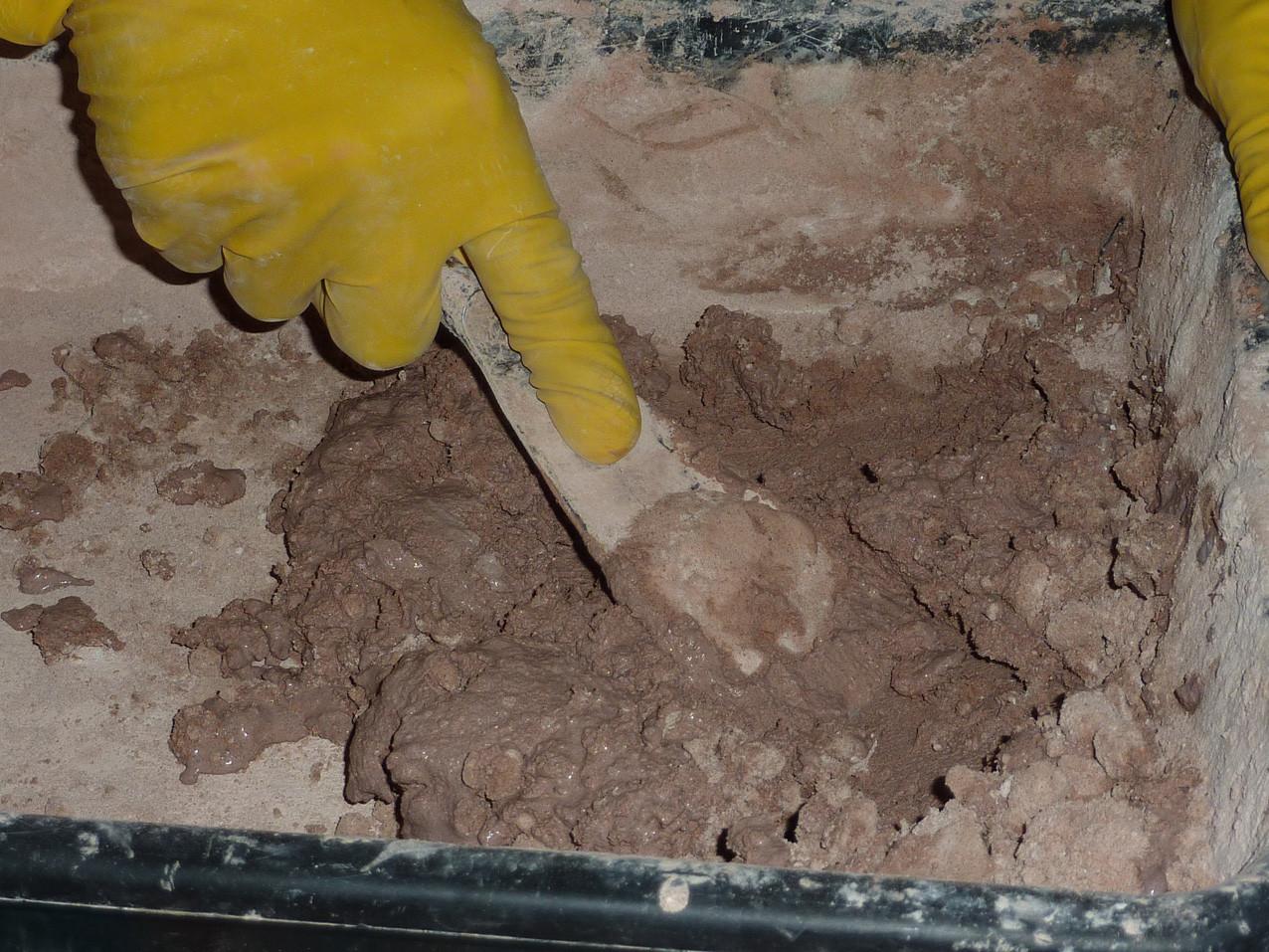 Mélange jusqu'à obtention de la texture souhaitée (Socra, 2012)