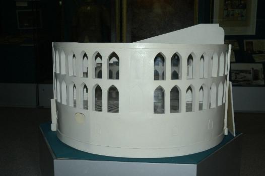 Maquette de l'observatoire au musée d'Histoire de Tashkent - vue n°4 (photo : C.Ollagnier, 2008)