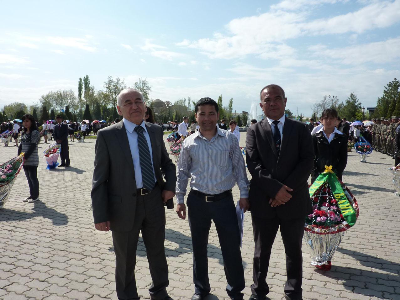 Membre de l'équipe/délégation ouzbèke (Socra, 2012)