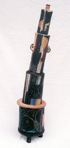 Travail de Michel Gardelle réalisé en 2003 (photo : M.Gardelle, 2003)