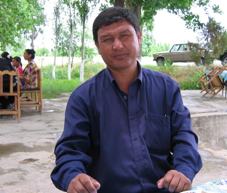 Azim Raimovich Karimov, reponsable de l'informatique au musée