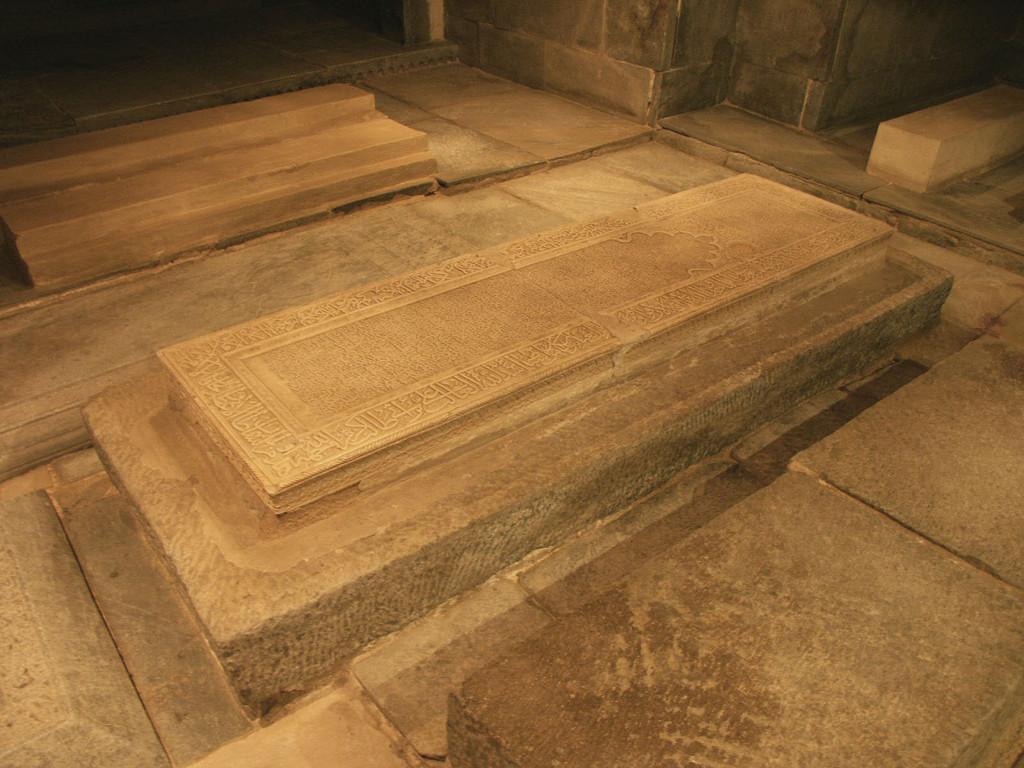 Tombeau de Timour dans la crypte du Gour Emir (photo : A.Billard, 2008)