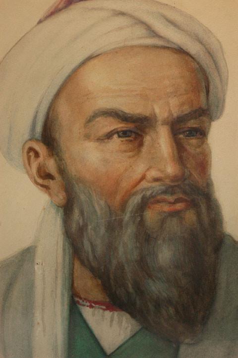 Représentation d'Abul Ali ibn Sina (980-1037 ap J.C.), auteur de plusieurs traités de médecine, chimie, philosophie et astronomie (photo : M.Schvoerer, 2008)