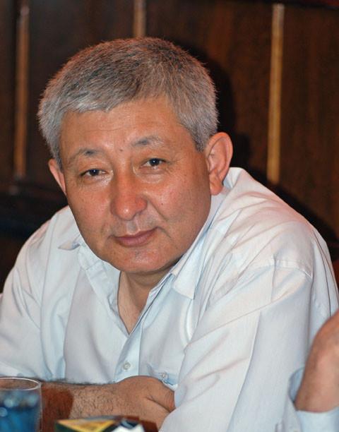 Mr Ouktam Mavlonov, historien à Tachkent (photo : M.Schvoerer, 2008)