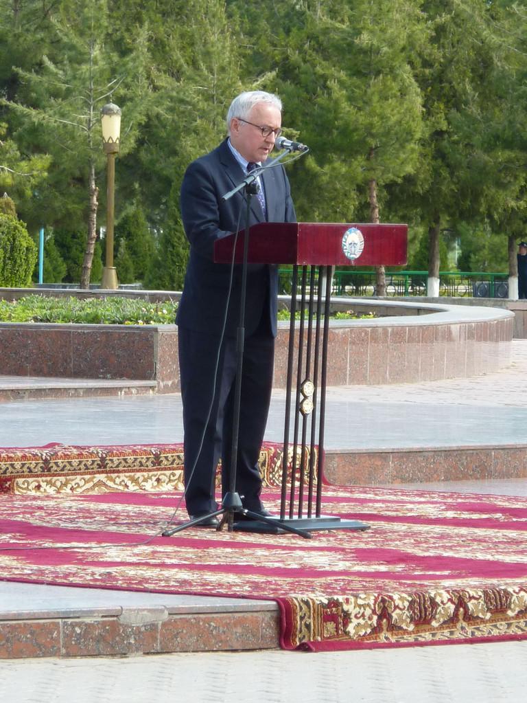 Discours de M. François GAUTHIER, Ambassadeur de France en Ouzbékistan (2010-2013)(Socra, 2012)