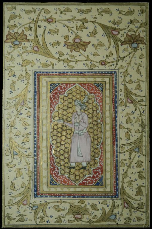 Copie d'une miniature persane du XVI ème s ap J.C.. Réalisée par S.Pochchayev, Musée d'Arts de Tachkent (photo : C.Ollagnier, 2008)