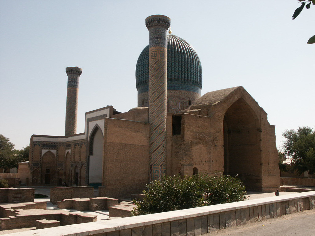 Vue générale du Gour Emir (photo : A.Billard, 2008)
