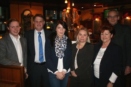 Vertreter von DeHoGa und FDP Essen im Dialog.