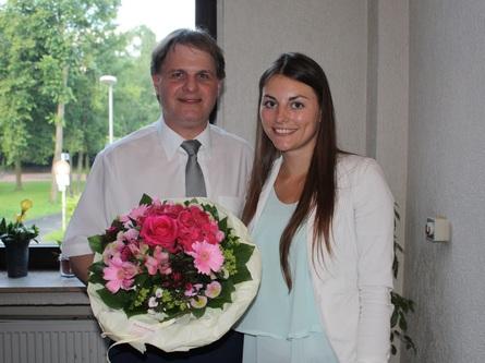 Der Parteivorstand gratuliert Nina Kolok herzlich zur erfolgreichen IHK-Prüfung.