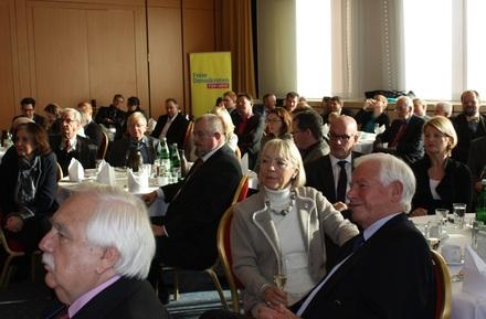 Der FDP-Neujahrsempfang 2016 ist auf großes öffentliches Interesse gestoßen.