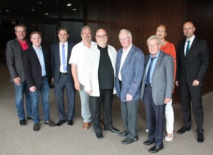 Vertreter von FDP und Einzelhandelsverband treffen sich zum Fachdialog.