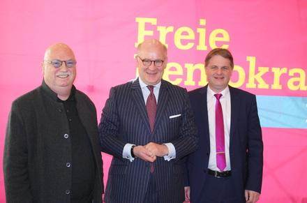 Die FDP begrüßt Dr. Thomas A. Lange als Hauptredner des Neujahrsempfangs.