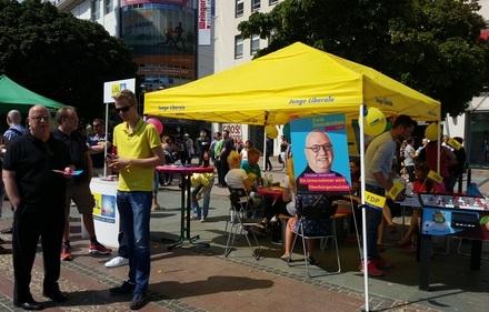Liberale Präsenz beim CSD Ruhr 2015