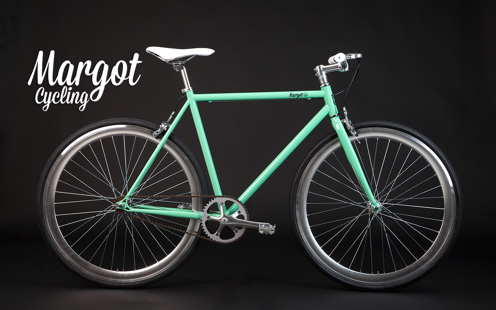 Tiffany: bicicletta fissa vintage, elegante e retrò.