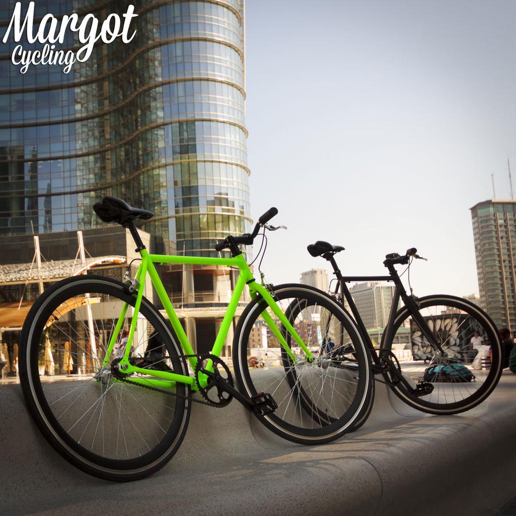 Le bici Margot riposano