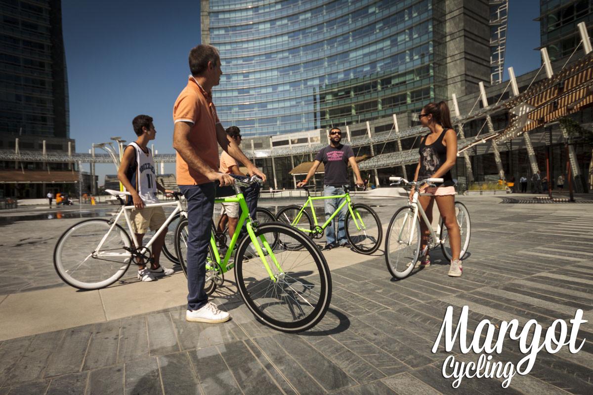 Socialità con le bici Margot