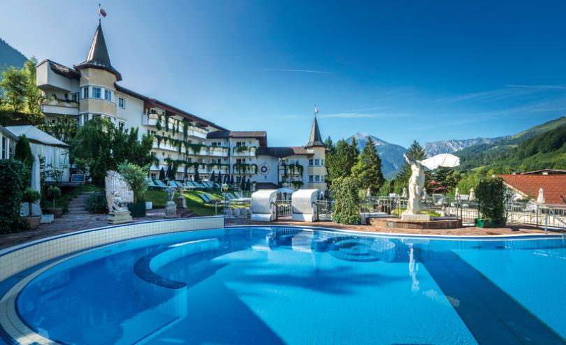 Reiter's Posthotel Achenkirch. Auch 2016 finden wieder viele wunderschöne Yoga-Wochenenden hier mit Veronika Rössl statt.