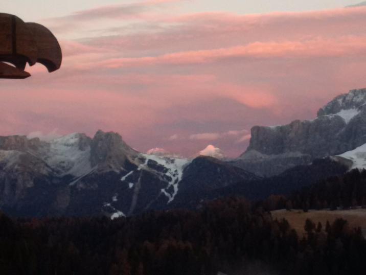 Adler Mountain Resort - aufgenommen 2015 vom Balkon des Spa Bereichs :-)