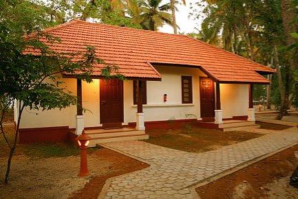 Die hübschen Cottages mit Blick zum Strand gelegen.