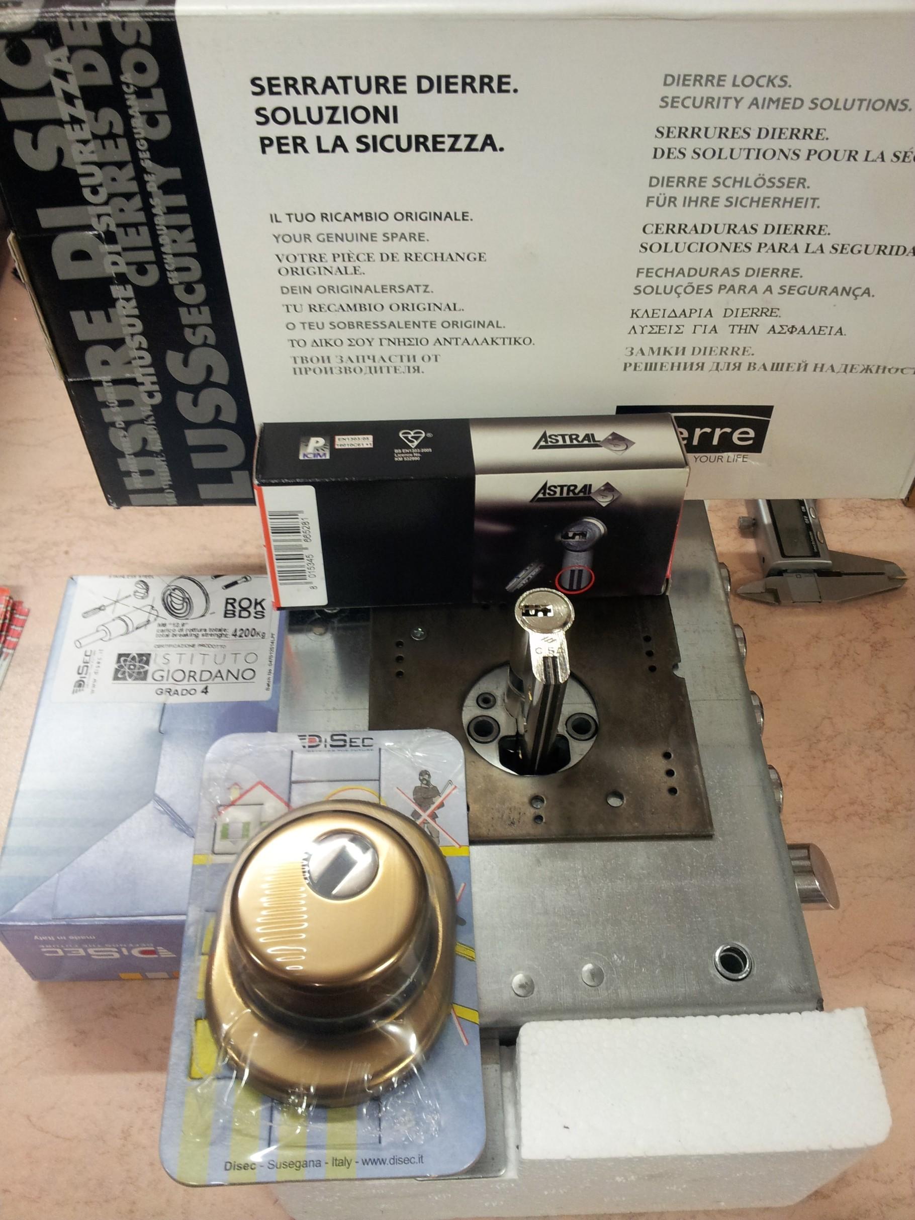 Atra dierre aggiornamento serrature porte blindate ferramenta effepi genova serrature chiavi auto - Effepi porte blindate ...