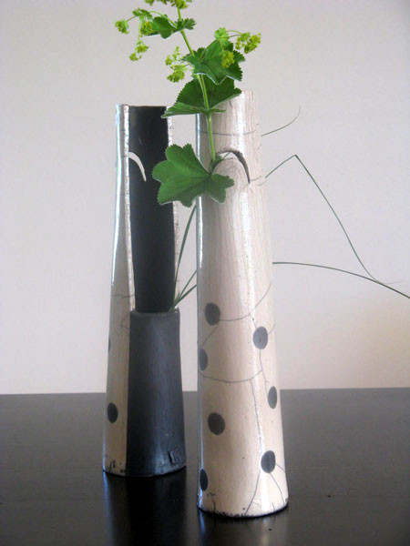 Vase Raku [Höhe 36cm]