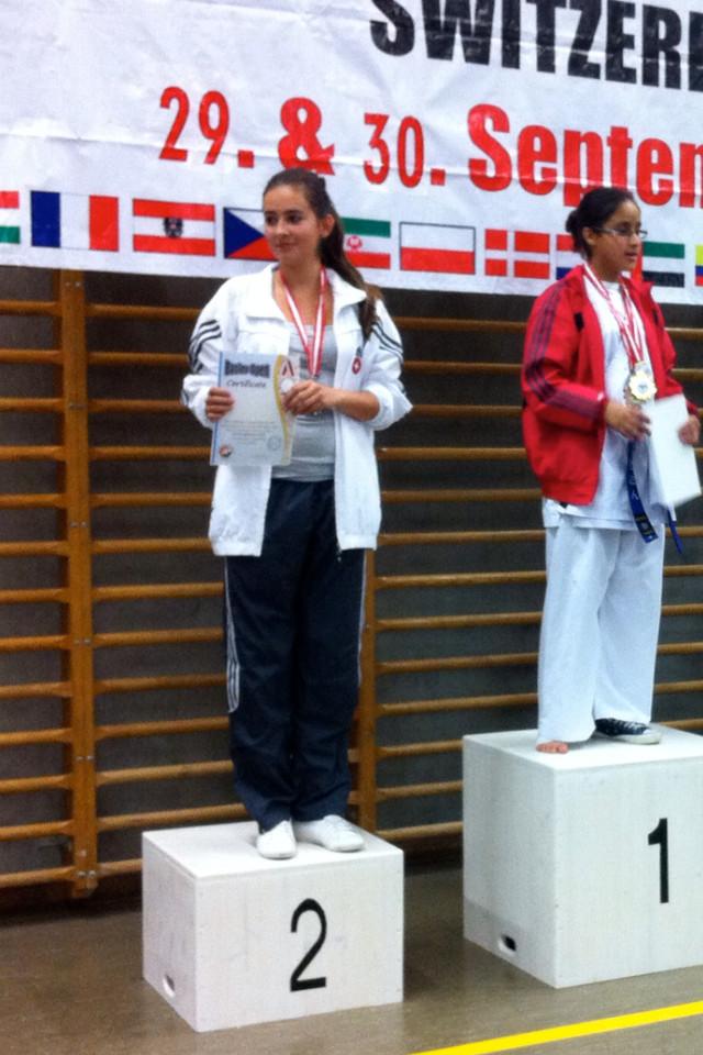 2. Rang Kim Steiner   Basler Open 29. u. 30.09.12 Podestplätze