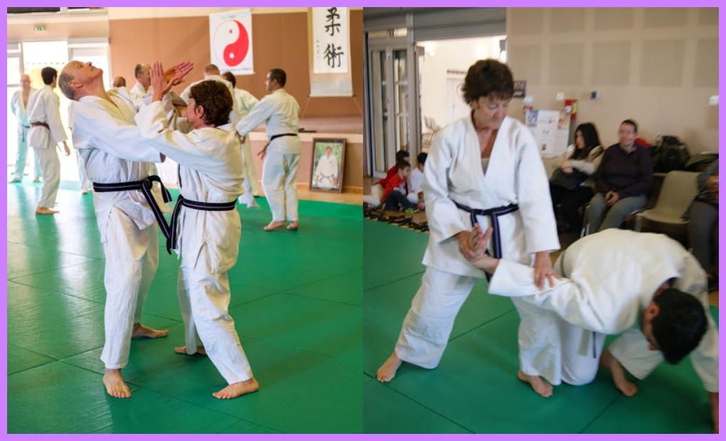 Se défendre ( jūjutsu 柔術)