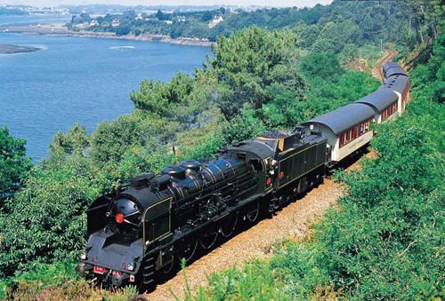 Faire un trajet avec la vapeur du Trieux, Paimpol - Pontrieux