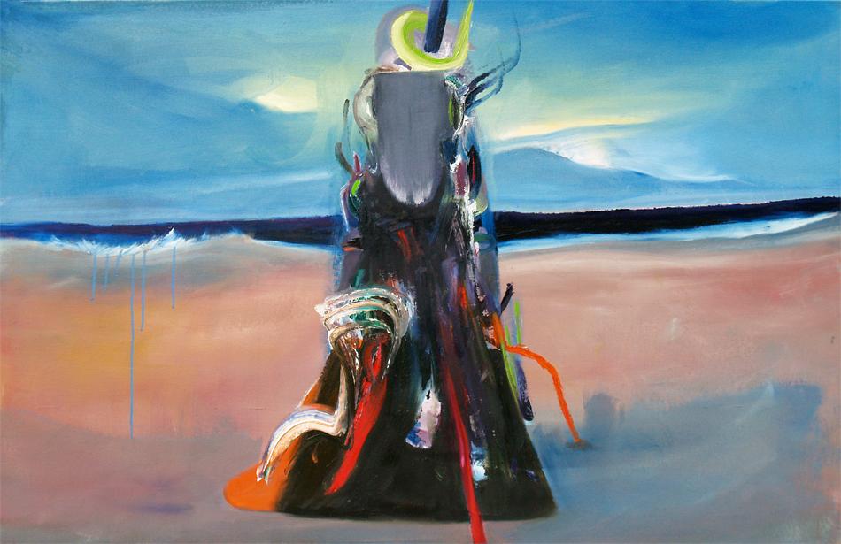 salvation, oil on canvas, 100 x 155 cm