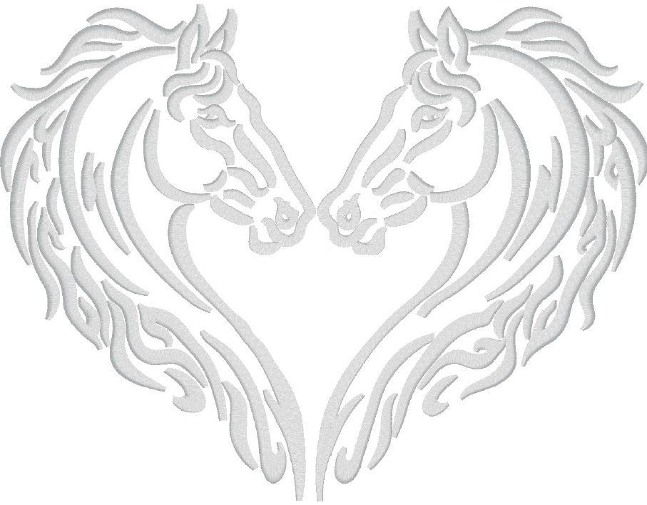 Pferd_03 / 6cm x 8cm oder 24cm x 18cm