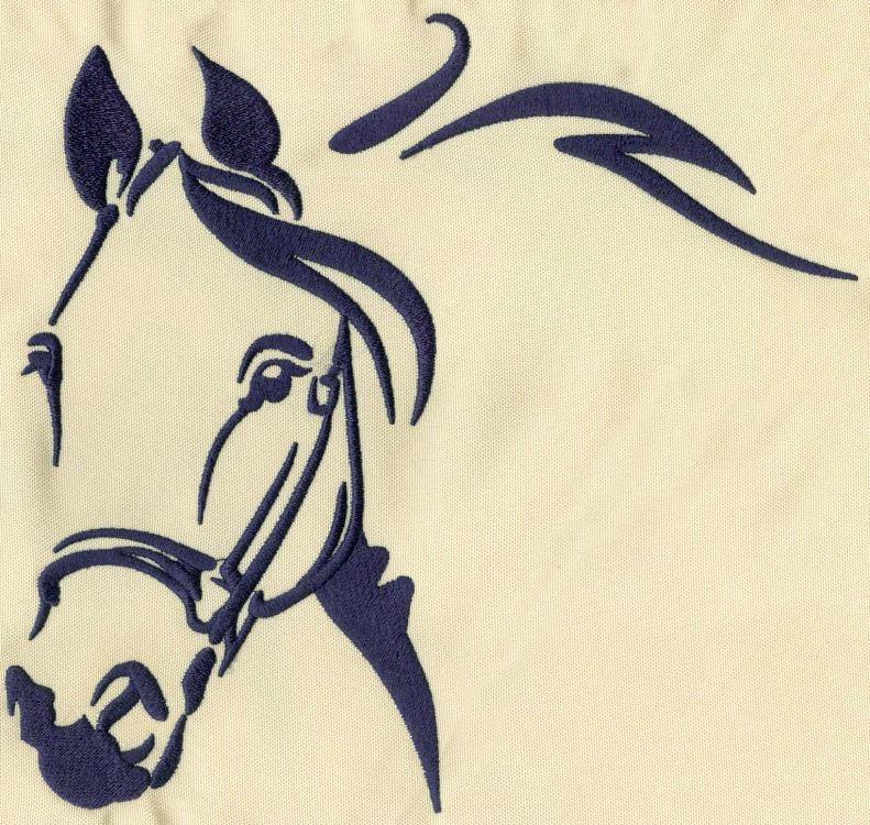 Pferd_04 / 7cm x 6cm oder 19cm x 18cm