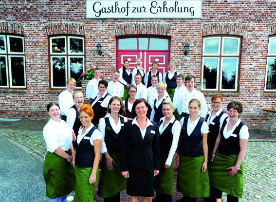 Frau Bittner und ihr Team Gasthof zur Erholung