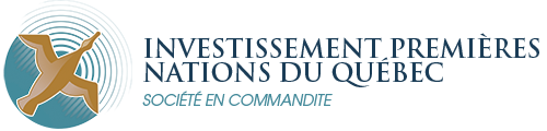Logo IPNQ investissement Premières Nations du Québec en couleur