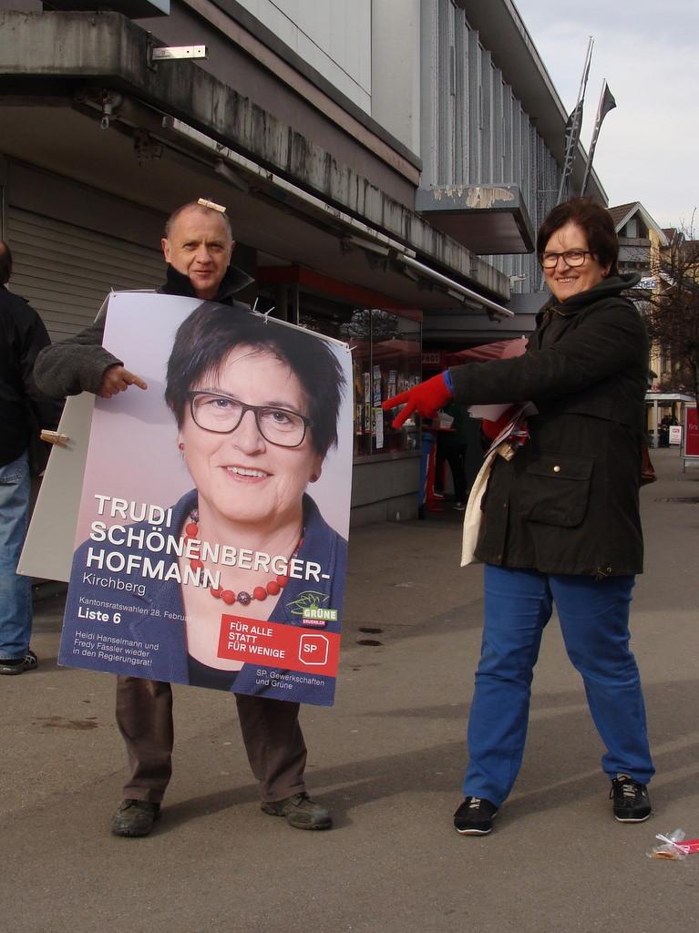 Bruno Facci und Trudi Schönenberger-Hofmann