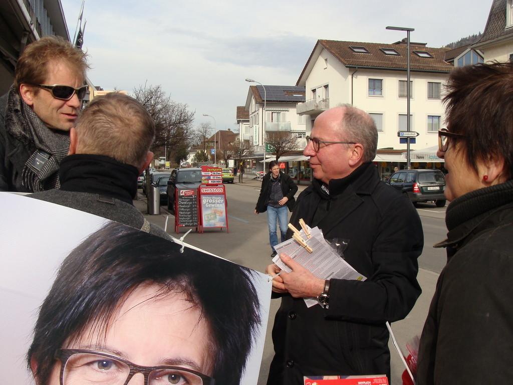 Fredy Fässler im Gespräch mit der SP Toggenburg