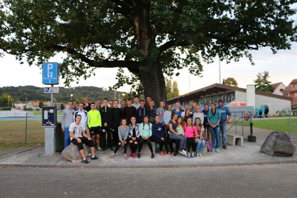 LG Nordstart SVM Mehrkampf Team 2016 in Winterthur