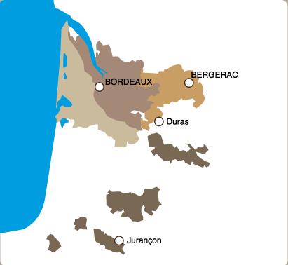 Le vignoble d'Aquitaine