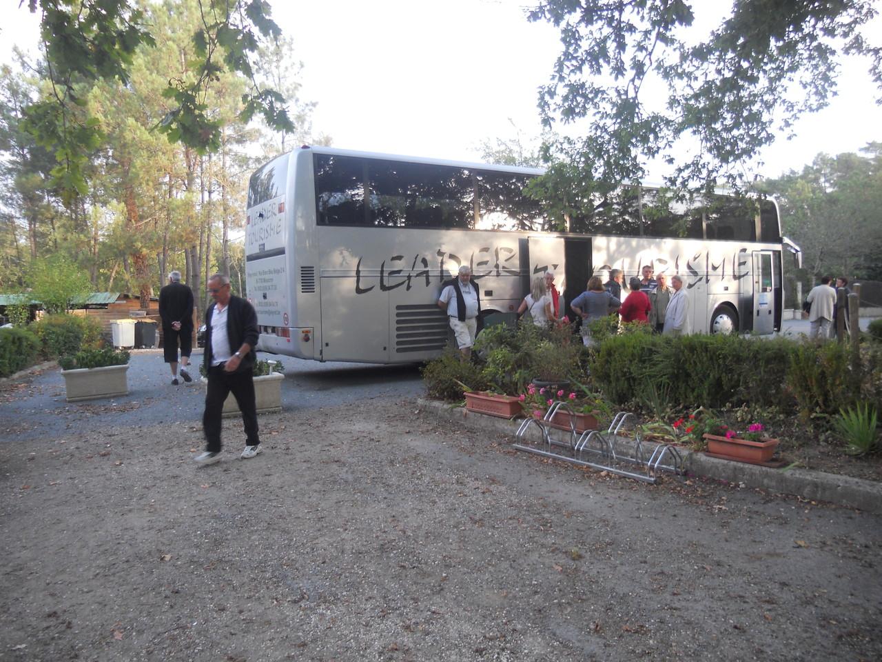 Nos amis de Mouscron à la découverte du vignoble et des sites du Bergeracois et de St Emilion - Sept 2012