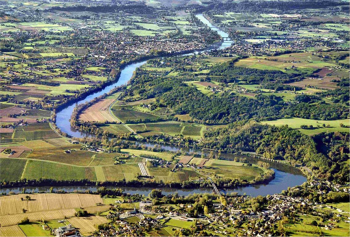 Méandre de la Dordogne
