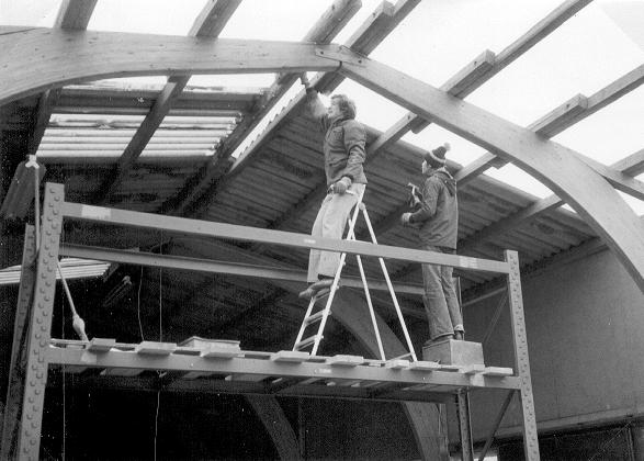 Gerd Blodig und Roland Schäfer in Aktion