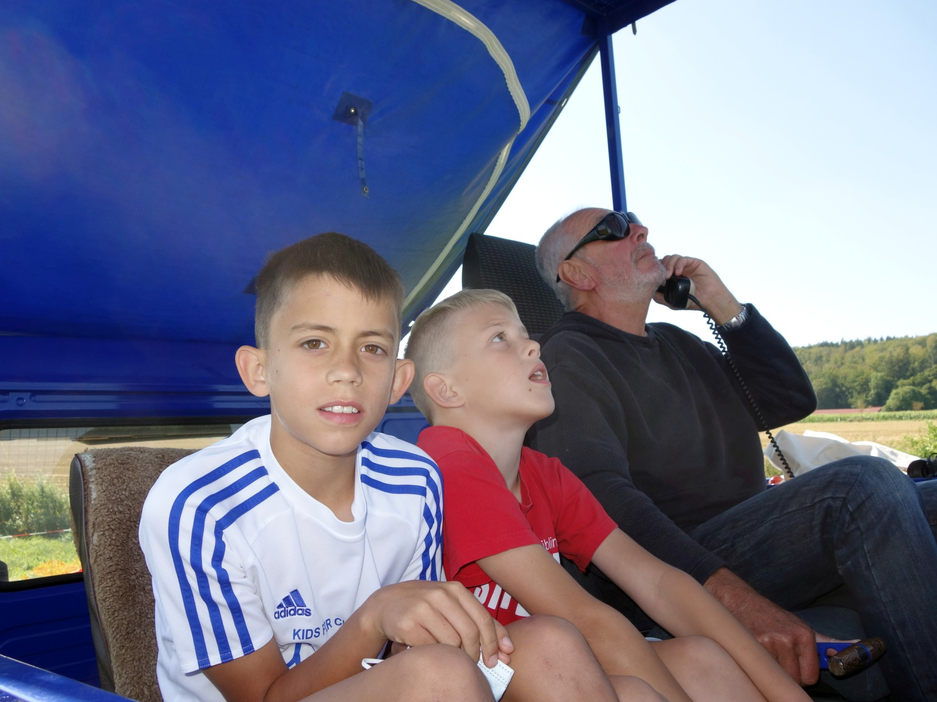 Walle hat Besuch von interessierten Ferienspaßkindern