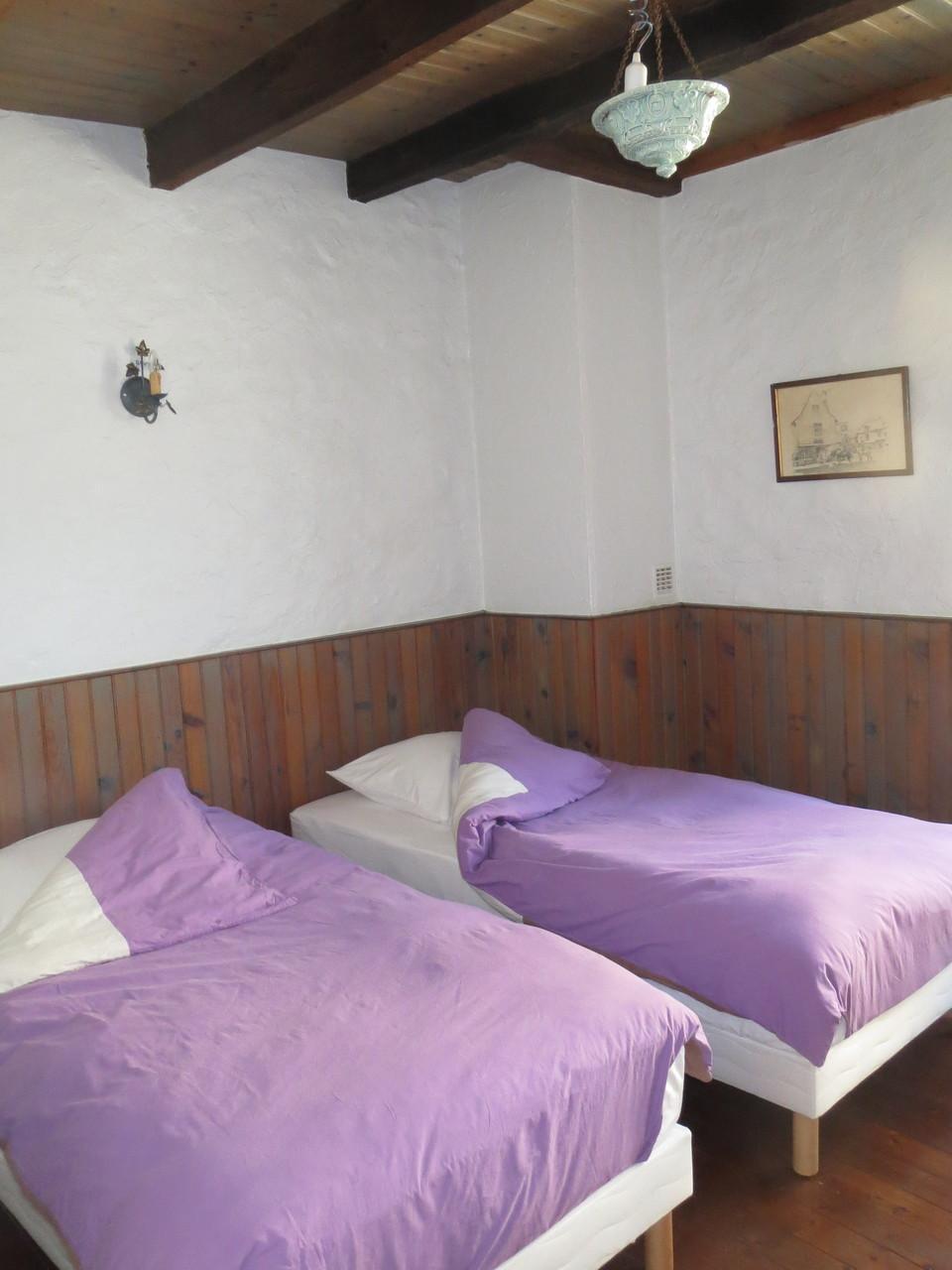 Chambre la Marguerite- 2 lits simples