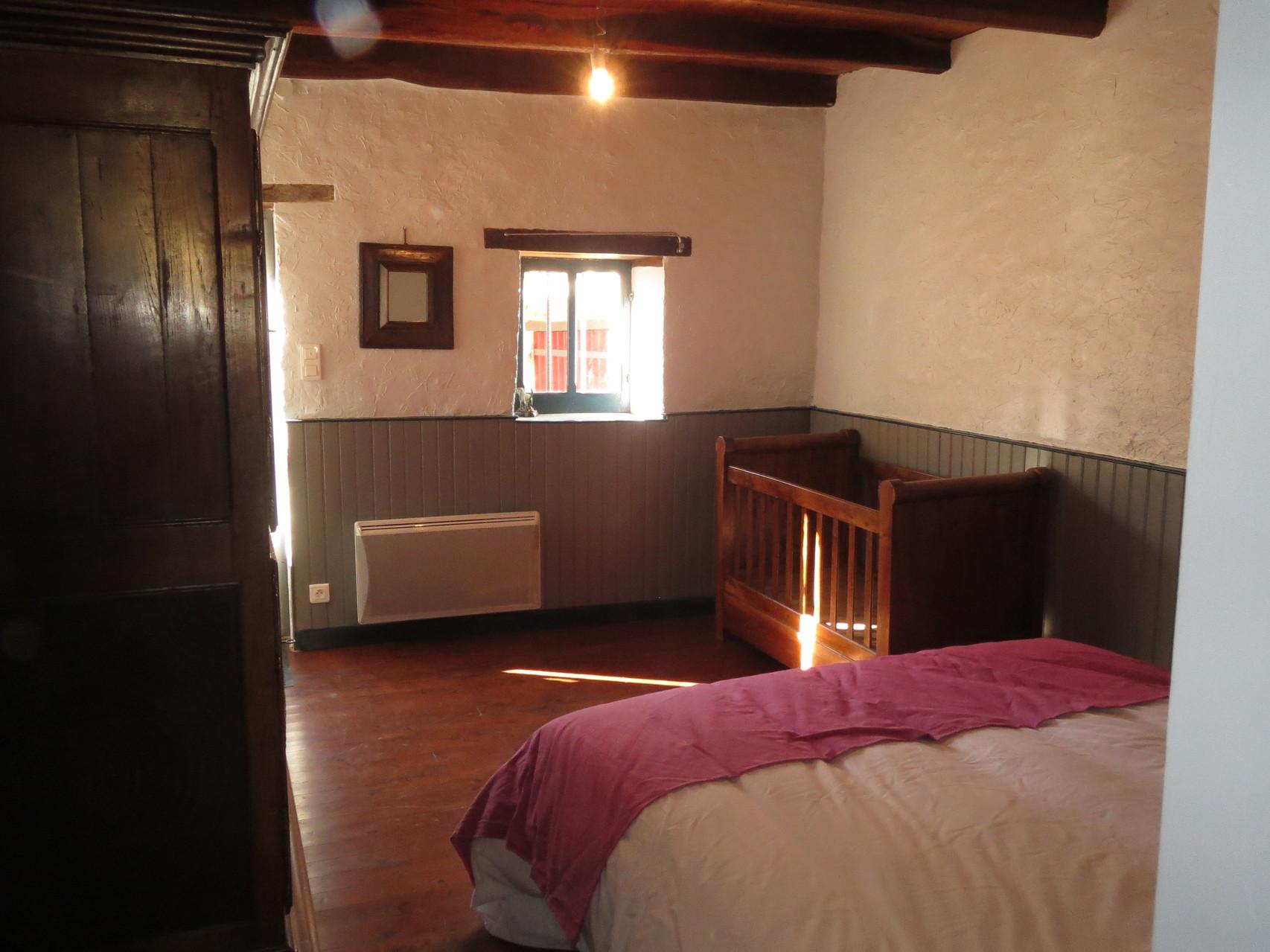 Chambre Du Moulin à Tan - 1 lit double + 1 lit de bébé