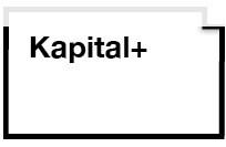 Logo der Ausstellung Kapital+