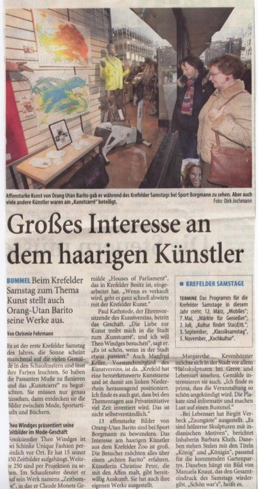 Westdeutsche Zeitung, 10.01.2011