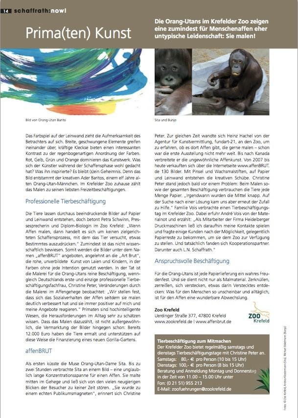 schaffrath:now! Frühjahr 2011, Nr. 22