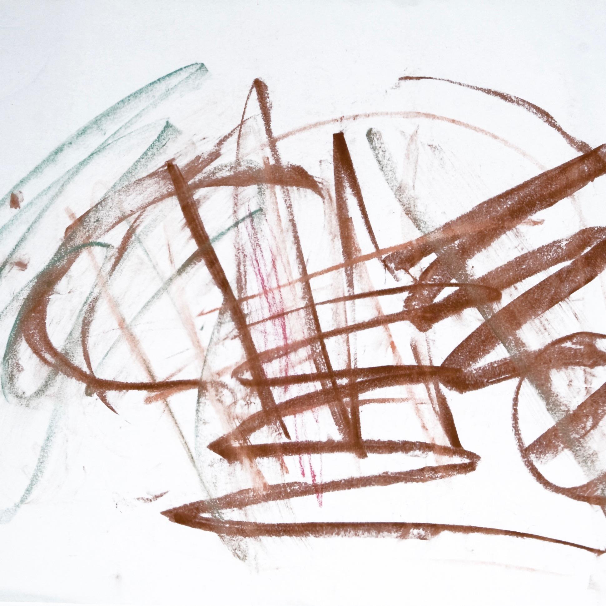 Sita 0196, 2009, Wachsmalstift auf Papier, 45 x 61 cm
