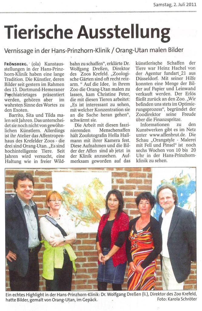 Iserlohner Kreisanzeiger, 2.07.2011