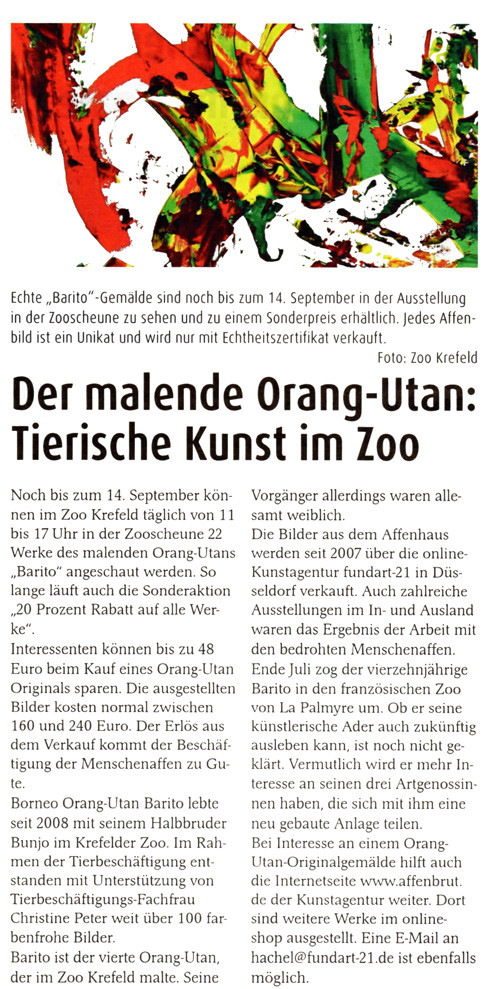 Beilage Stadt Spiegel Krefeld, 3.09.2014