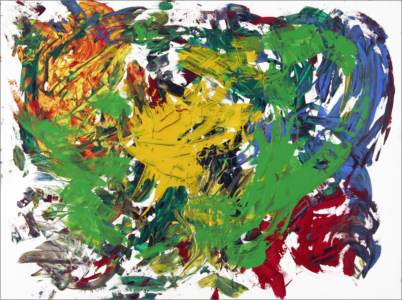 Barito | Acryl auf Leinwand | 60 x 80 cm